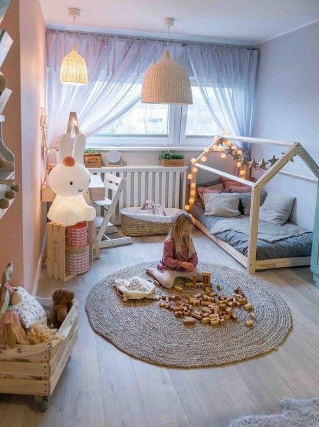 Thiết kế giường gác mái đẹp cho phòng ngủ bé yêu thêm lung linh