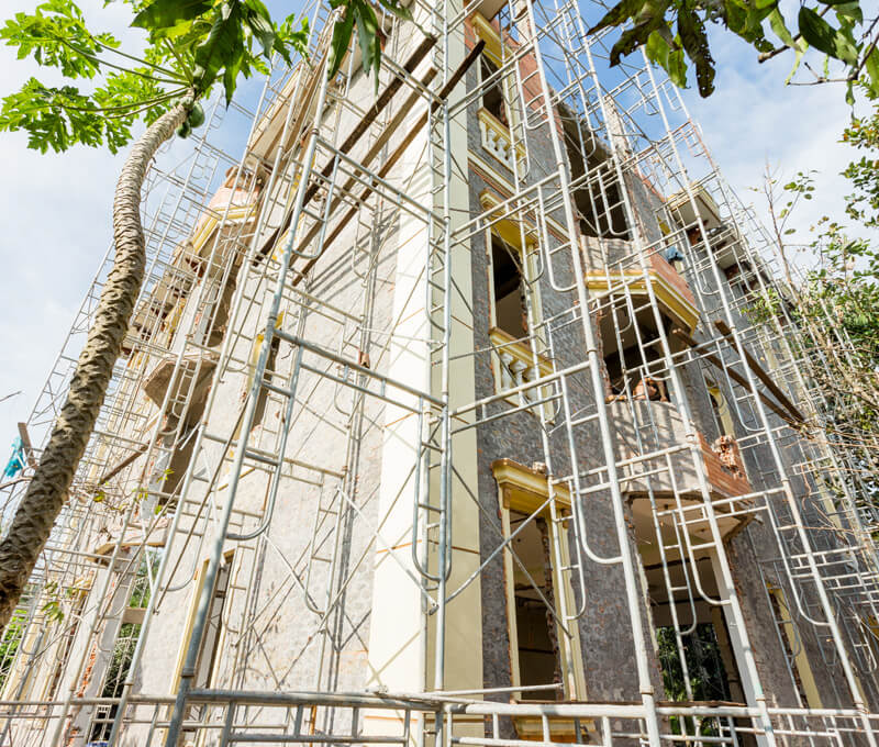 Hoàn tất công đoạn tháo dỡ biệt thự cổ điển tại Long Thành