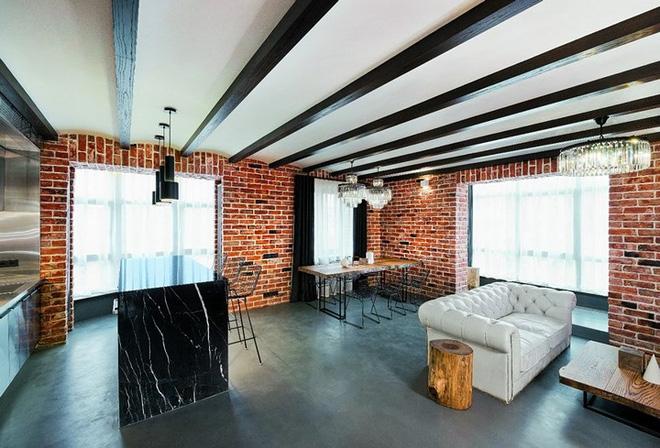 Không gian nhà ấn tượng khi thiết kế trần nhà đẹp với gỗ