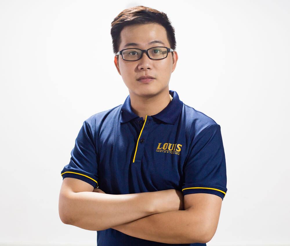 Giám đốc xưởng thiết kế số 3 công ty LOUIS- Lê Như Long