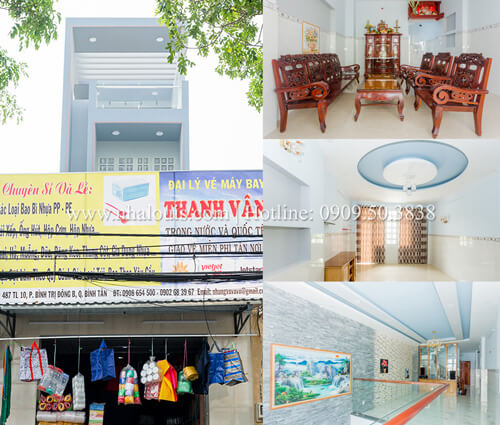 Ngắm nhà phố 5 tầng đẹp hiện đại ở Bình Tân