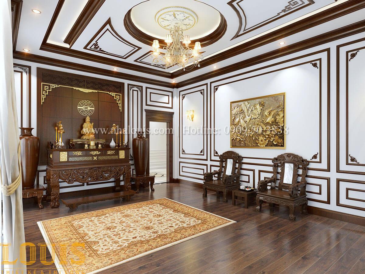 Thiết kế biệt thự phong cách tân cổ điển sang trọng 2018 tại Vĩnh Long