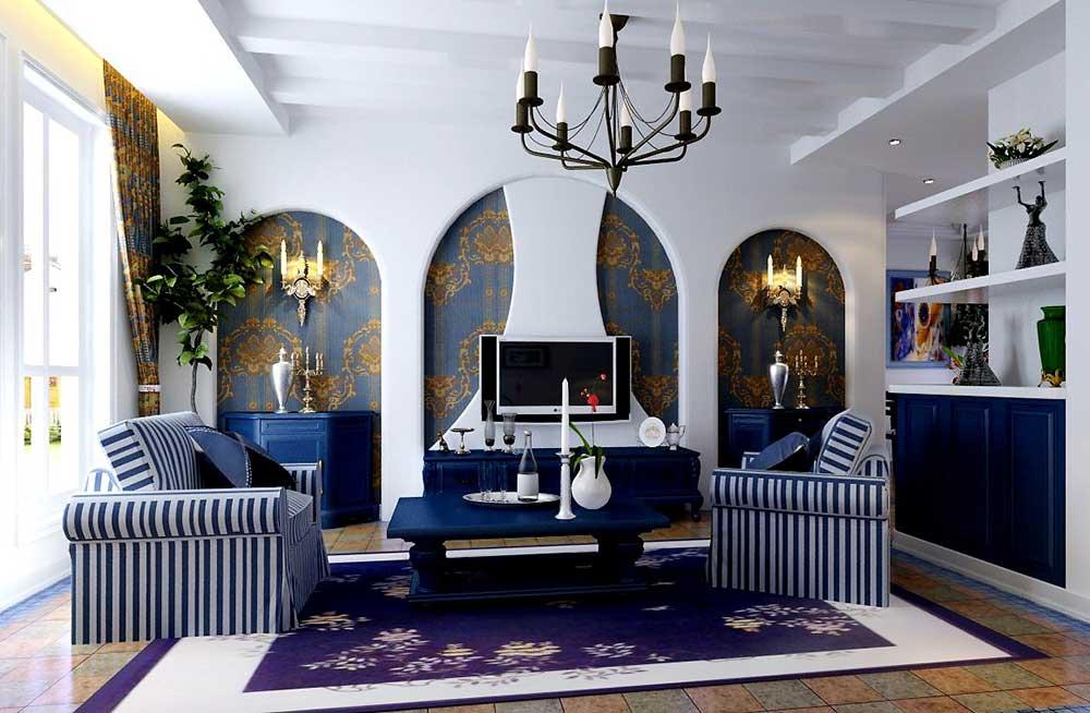 Thiết kế ngôi nhà đẹp với nội thất phong cách Địa Trung Hải