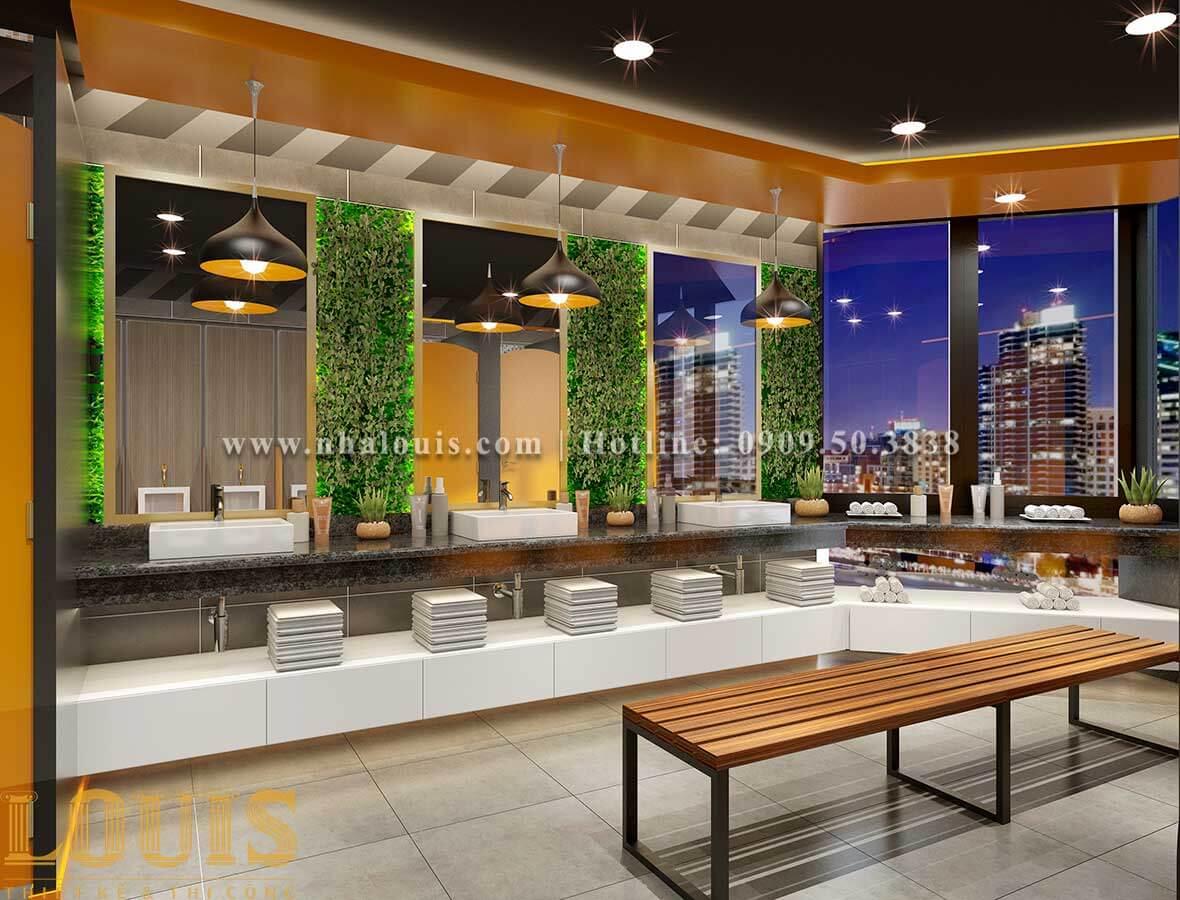 Thiết kế phòng gym hiện đại với quy mô khủng tại Quận 9 - 10