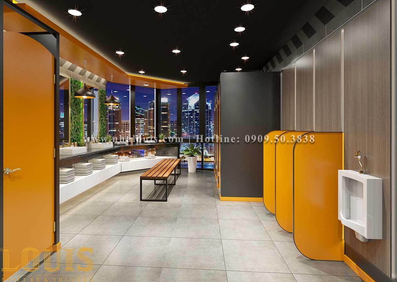 Thiết kế phòng gym hiện đại với quy mô khủng tại Quận 9 - 12