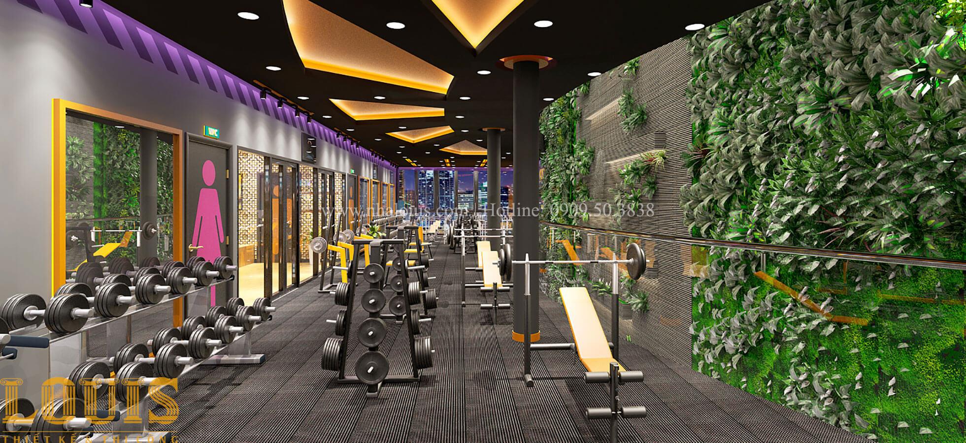 Phòng tập Thiết kế phòng tập gym hiện đại với quy mô khủng tại Quận 9 - 21