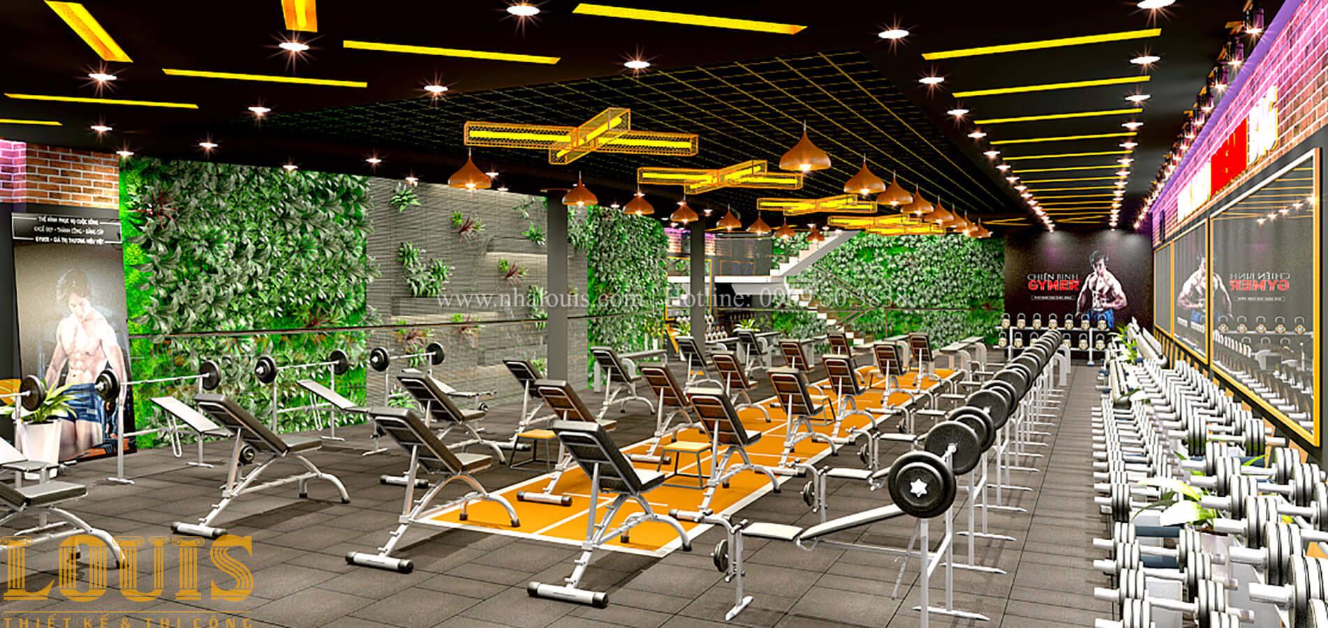 Phòng tập Thiết kế phòng tập gym hiện đại với quy mô khủng tại Quận 9 - 31