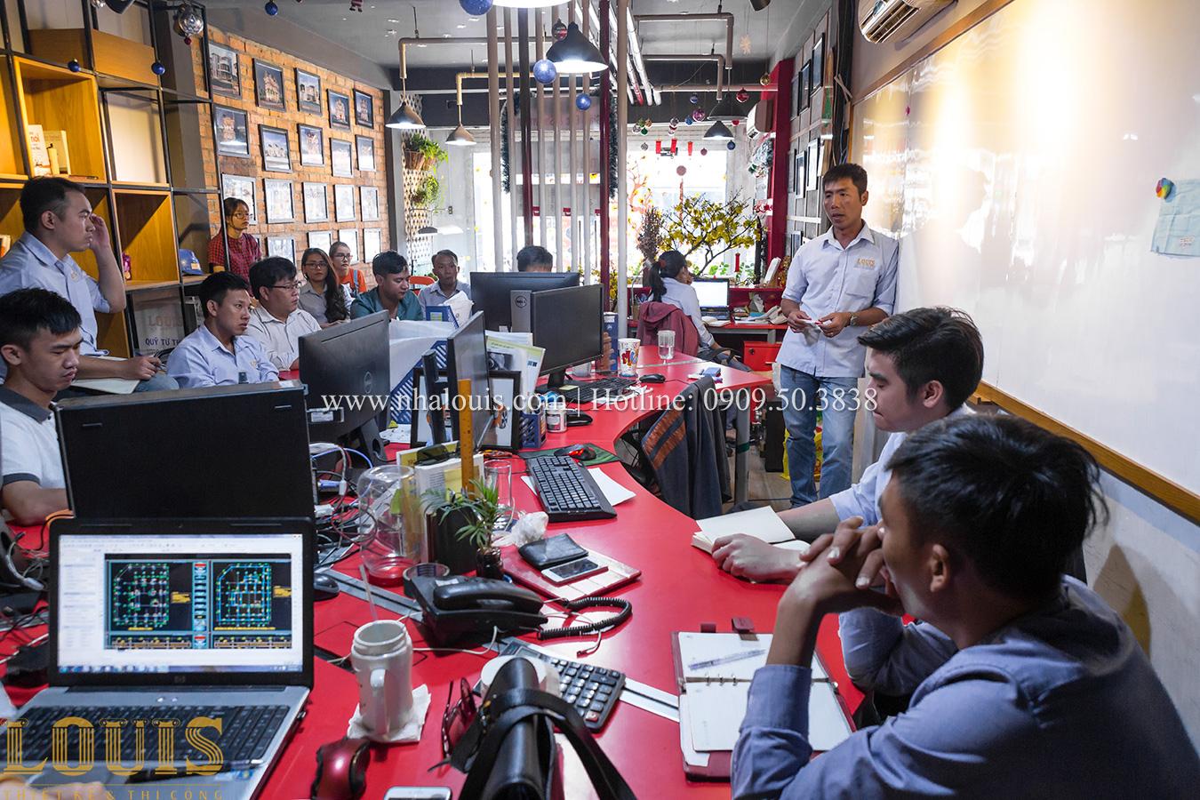 Cuộc họp chiến lược đầu năm 2018 của khối văn phòng công ty LOUIS