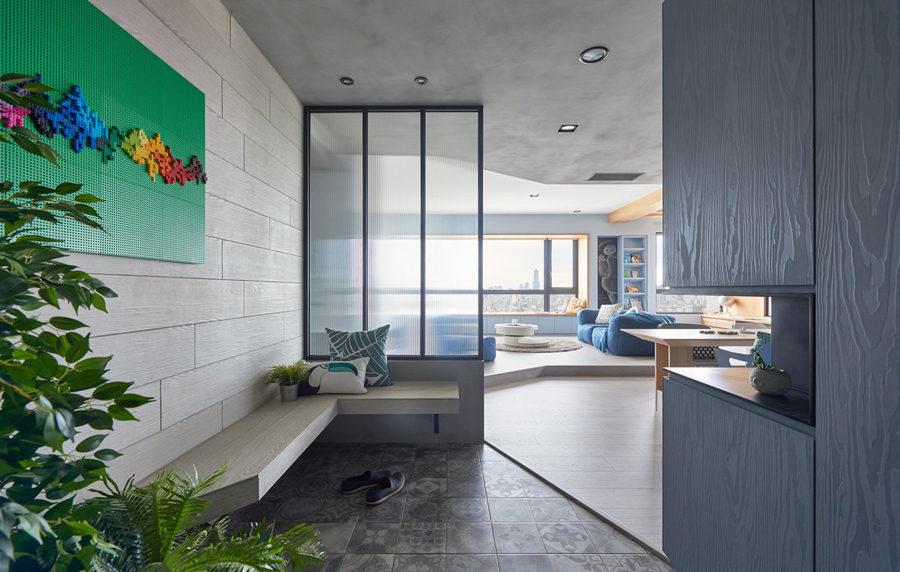 Ngắm mẫu thiết kế căn hộ đa năng lý tưởng cho gia đình có trẻ nhỏ