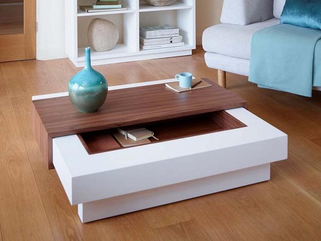Những mẫu bàn trà ấn tượng cho không gian phòng khách thêm lôi cuốn