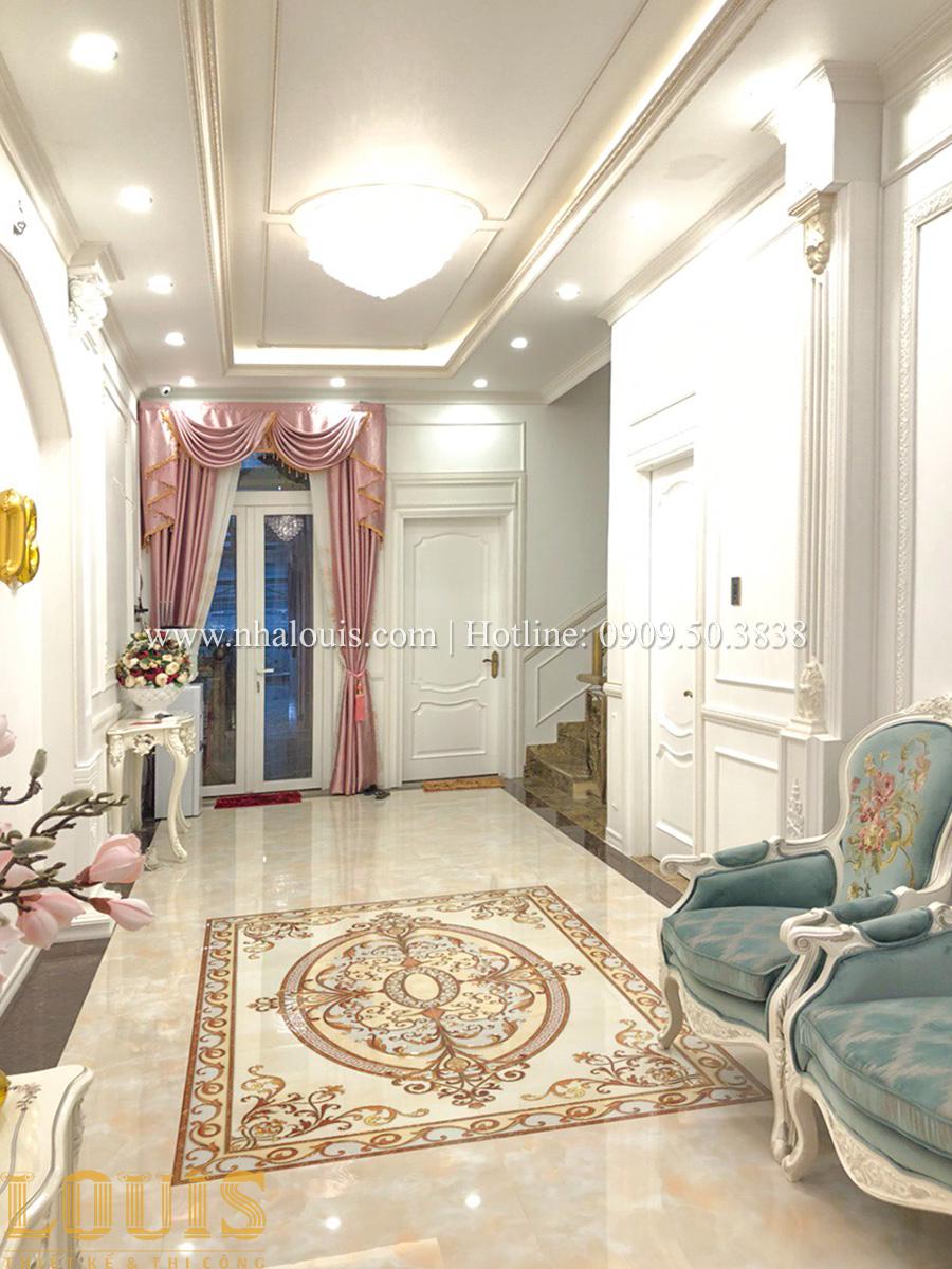 Dự án thi công biệt thự phong cách cổ điển kết hợp kinh doanh ở Đồng Nai