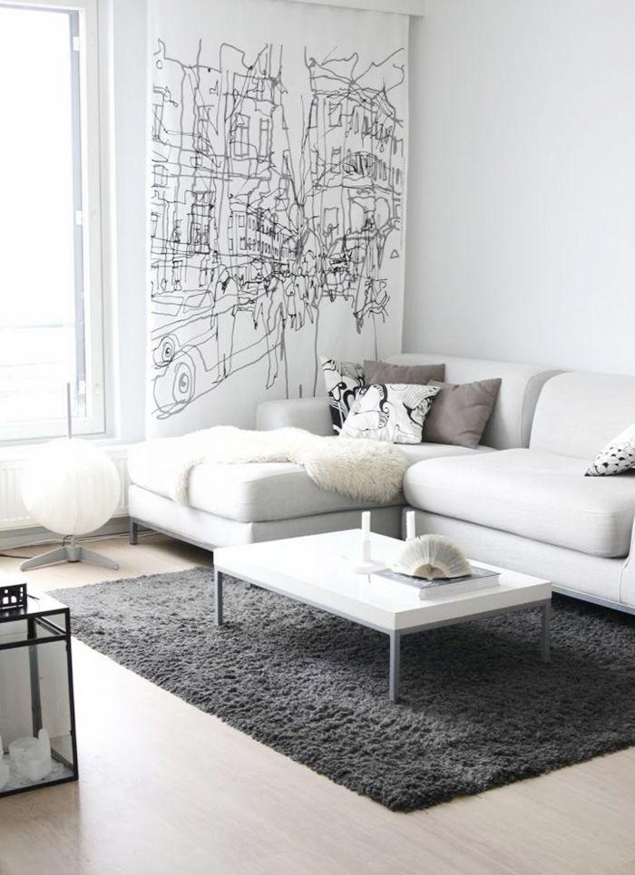 Bí quyết để trang trí phòng khách đạt điểm 10 với ghế sofa trắng