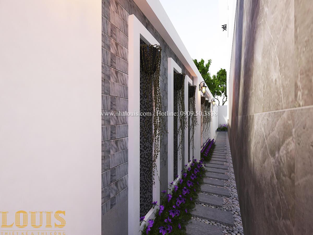 Tiểu cảnh sân vườn Biệt thự 1 trệt 1 lầu phong cách hiện đại 05