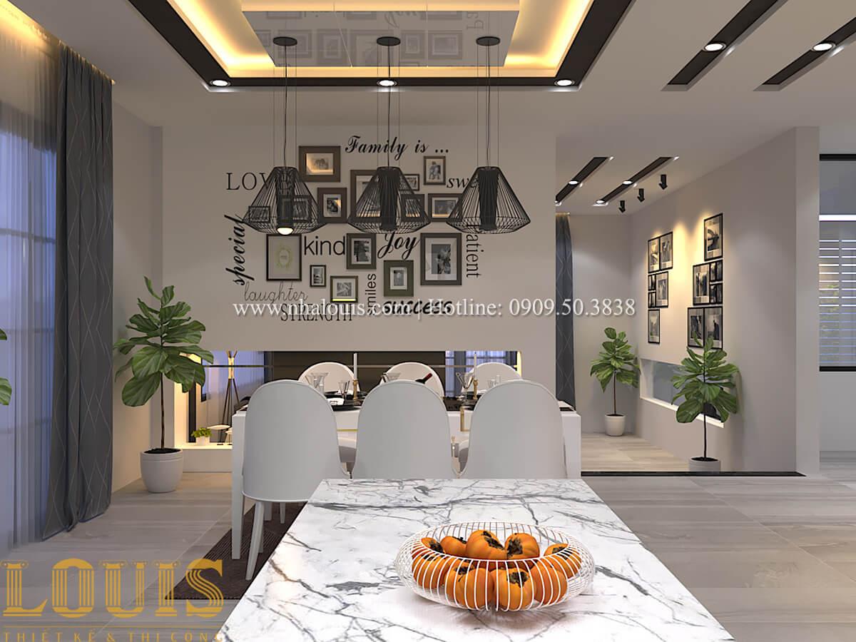 Phòng ăn Biệt thự 1 trệt 1 lầu phong cách hiện đại 12