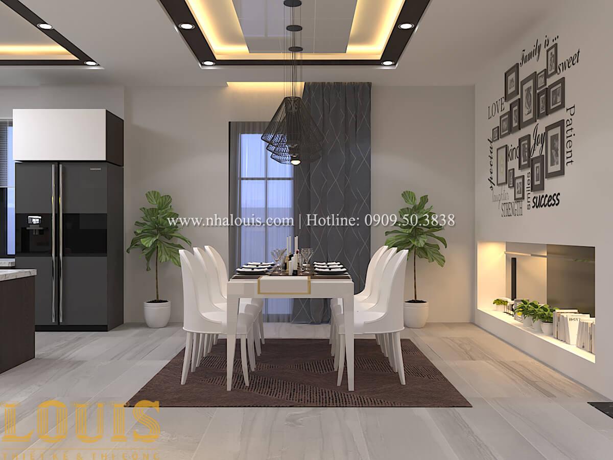 Phòng ăn Biệt thự 1 trệt 1 lầu phong cách hiện đại 13