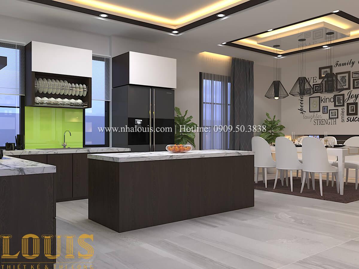 Phòng bếp Biệt thự 1 trệt 1 lầu phong cách hiện đại 14