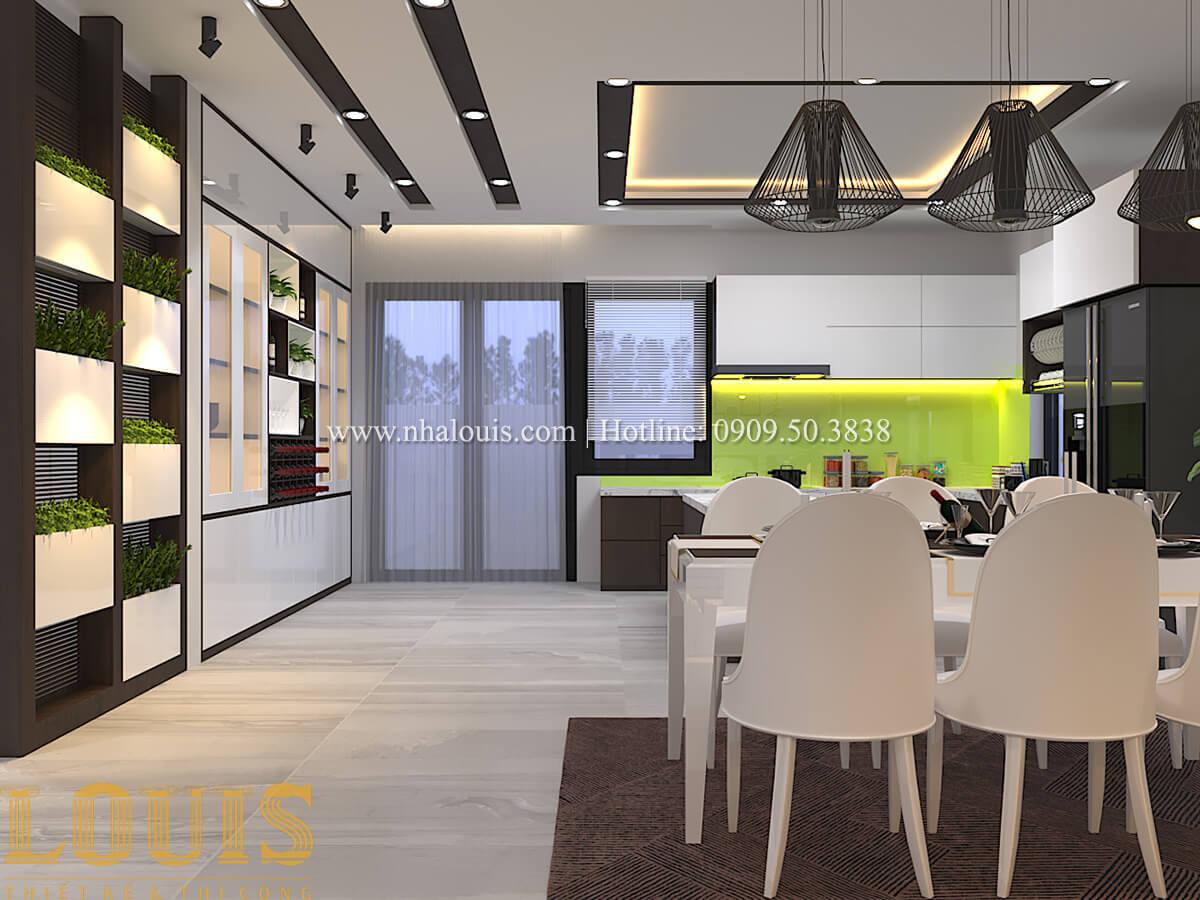 Phòng ăn Biệt thự 1 trệt 1 lầu phong cách hiện đại 15