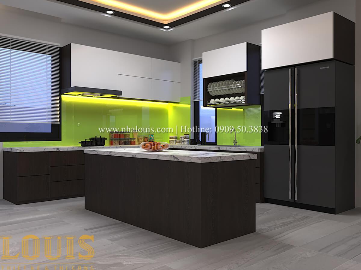 Phòng bếp Biệt thự 1 trệt 1 lầu phong cách hiện đại 16