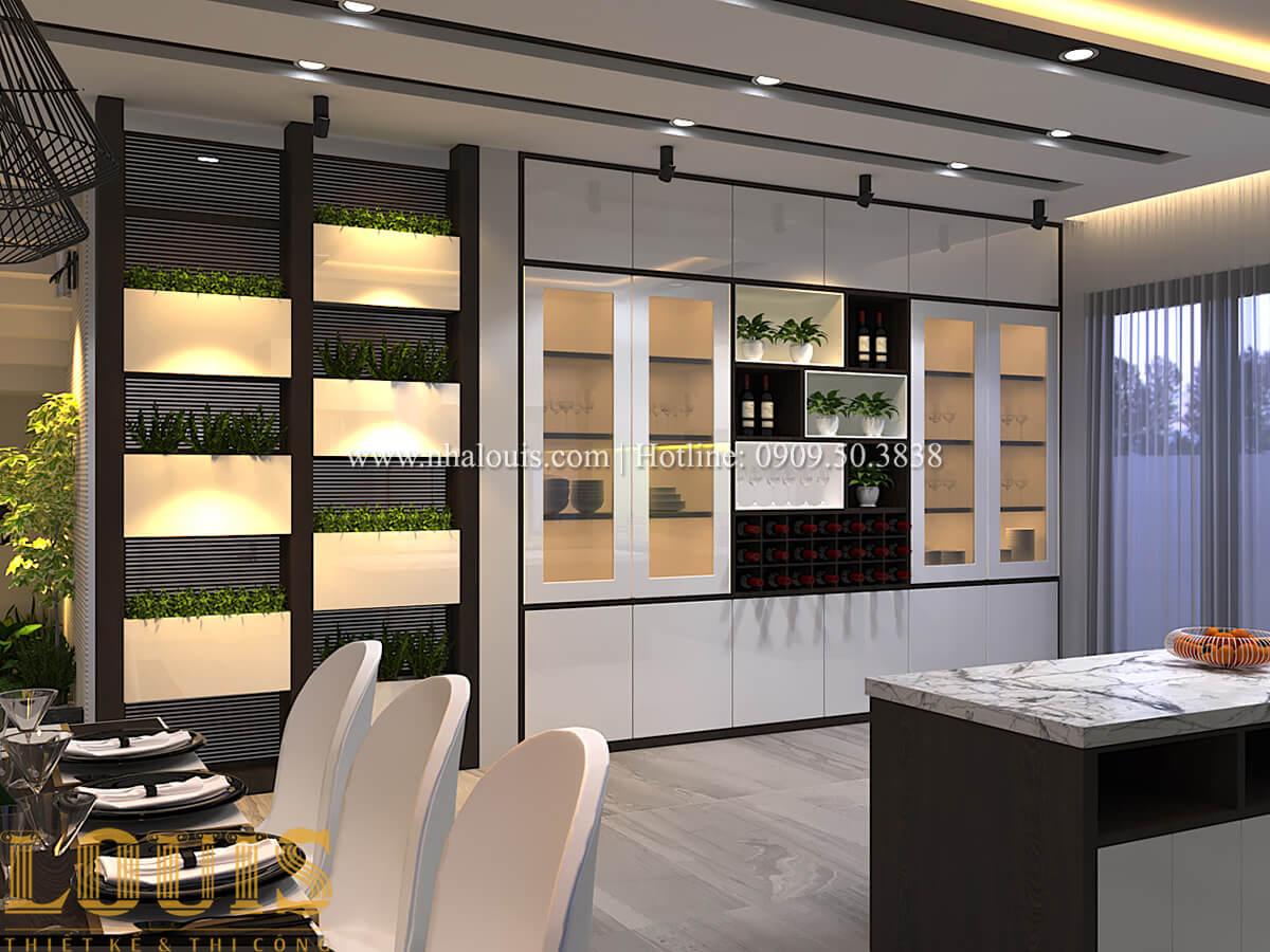 Phòng ăn Biệt thự 1 trệt 1 lầu phong cách hiện đại 17