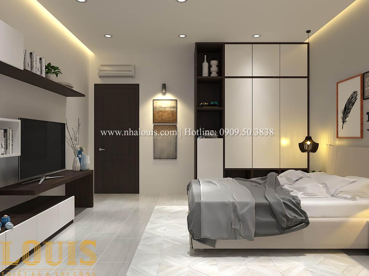 Phòng ngủ Biệt thự 1 trệt 1 lầu phong cách hiện đại 19