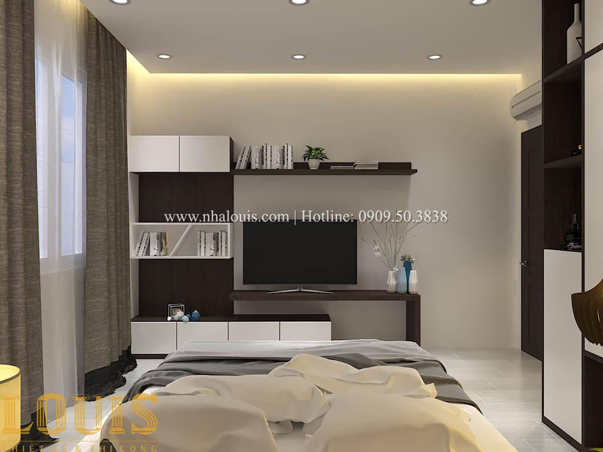 Phòng ngủ Biệt thự 1 trệt 1 lầu phong cách hiện đại 21