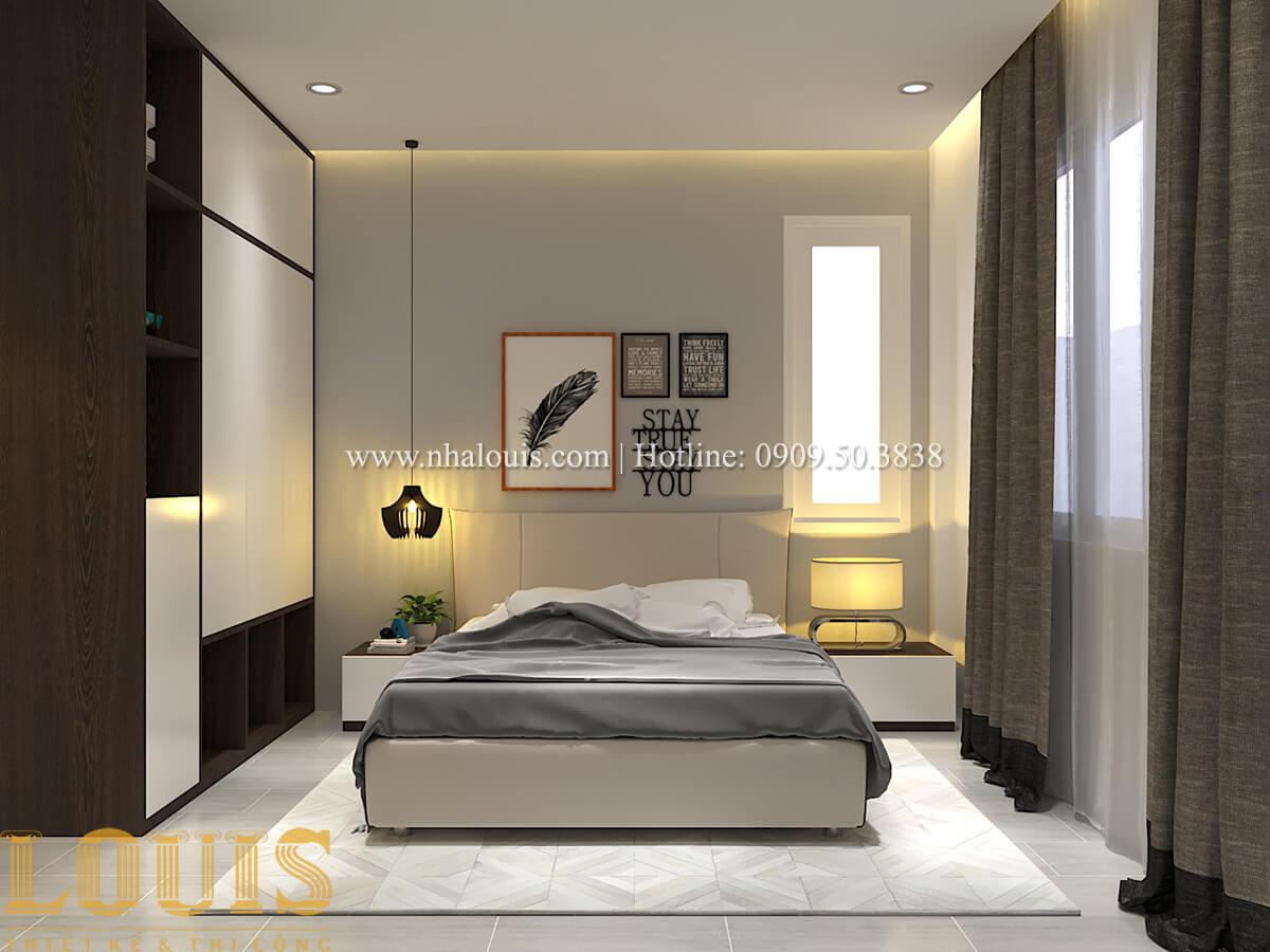 Phòng ngủ Biệt thự 1 trệt 1 lầu phong cách hiện đại 22