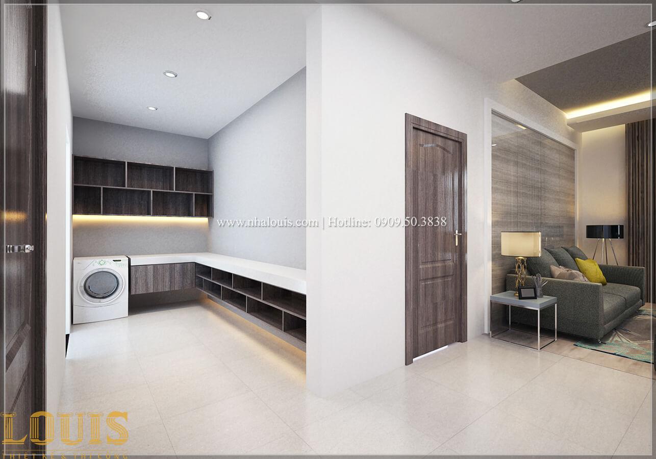 Phòng sinh hoạt chung Biệt thự 1 trệt 1 lầu phong cách hiện đại 28