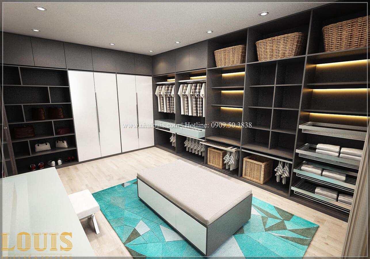Phòng thay đồ Biệt thự 1 trệt 1 lầu phong cách hiện đại 29