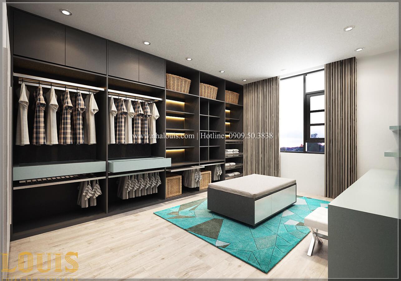 Phòng thay đồ Biệt thự 1 trệt 1 lầu phong cách hiện đại 31