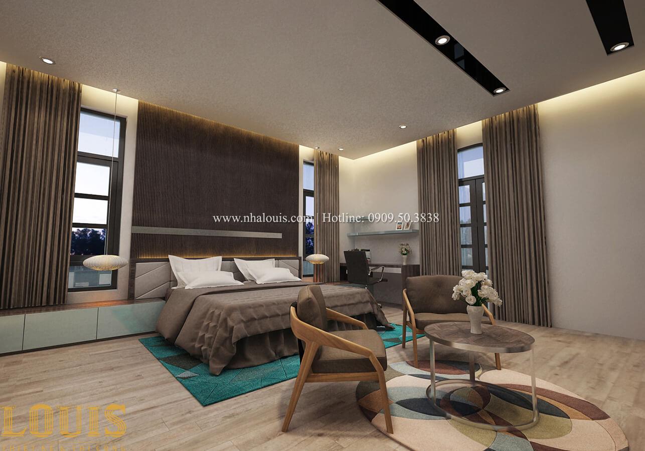 Phòng ngủ master Biệt thự 1 trệt 1 lầu phong cách hiện đại 33