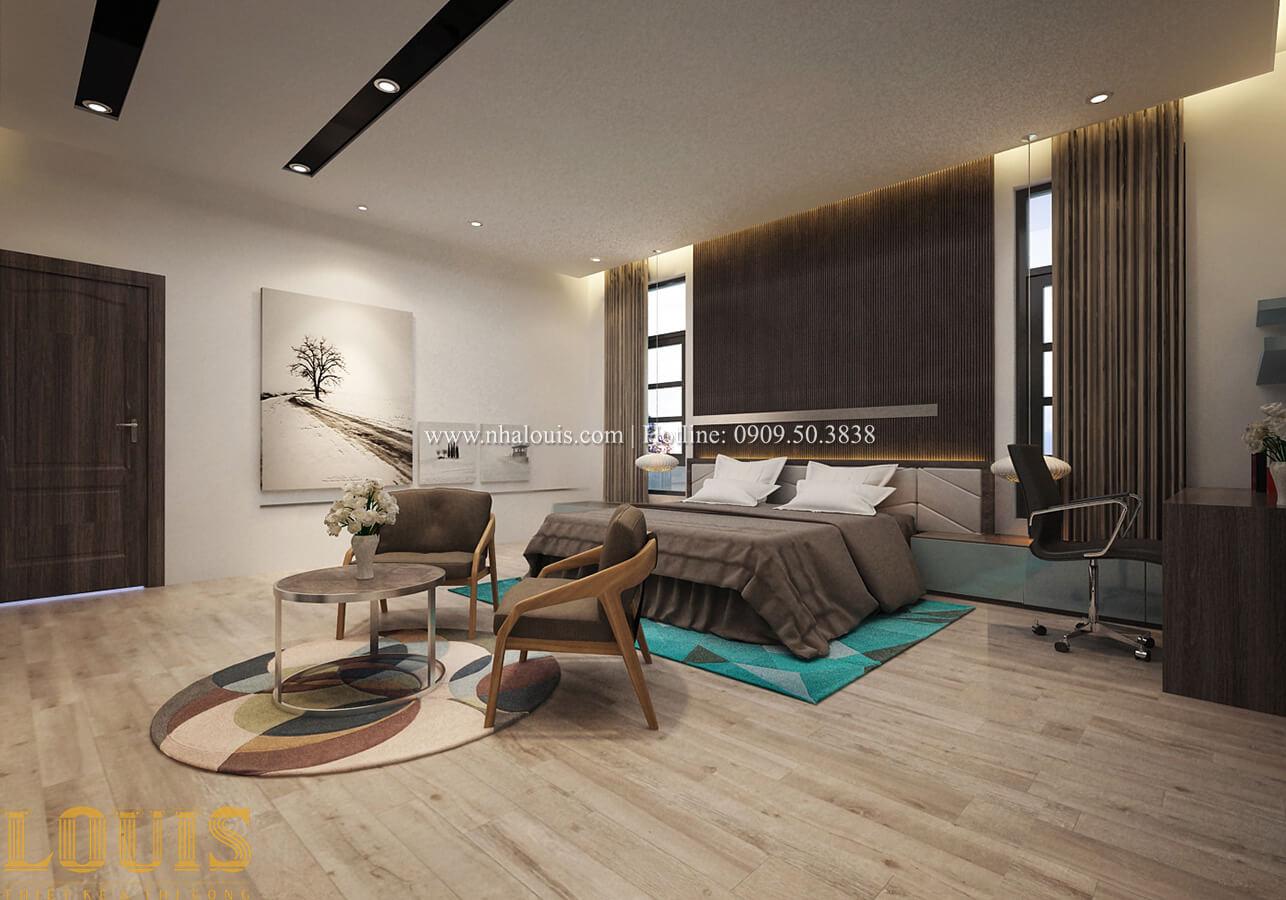 Phòng ngủ master Biệt thự 1 trệt 1 lầu phong cách hiện đại 34