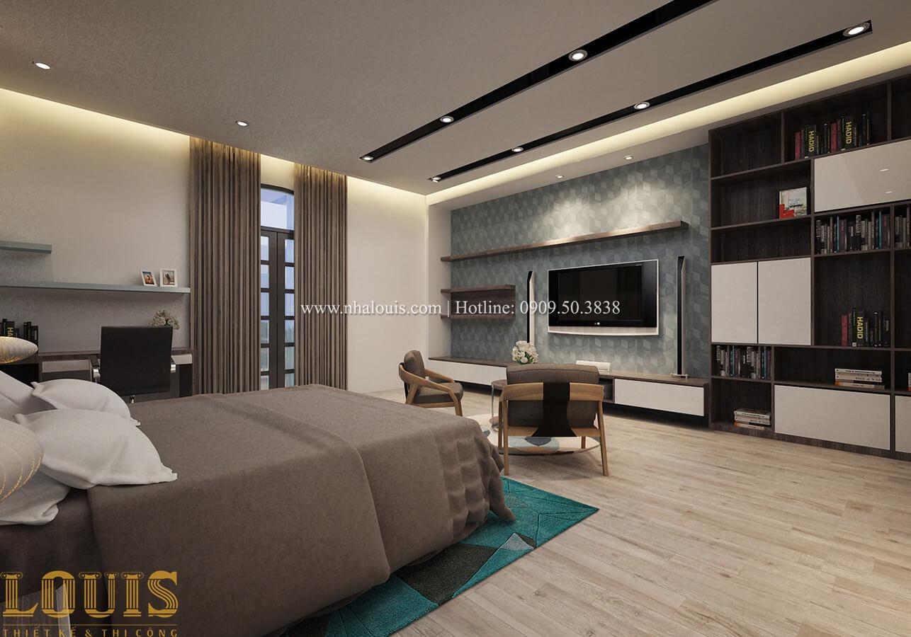Phòng ngủ master Biệt thự 1 trệt 1 lầu phong cách hiện đại 35