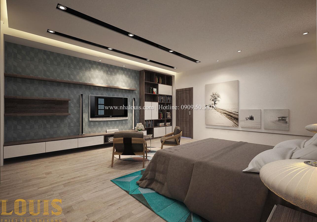 Phòng ngủ master Biệt thự 1 trệt 1 lầu phong cách hiện đại 36