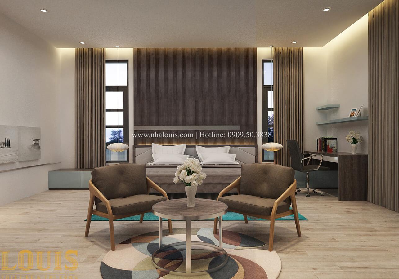 Phòng ngủ master Biệt thự 1 trệt 1 lầu phong cách hiện đại 37
