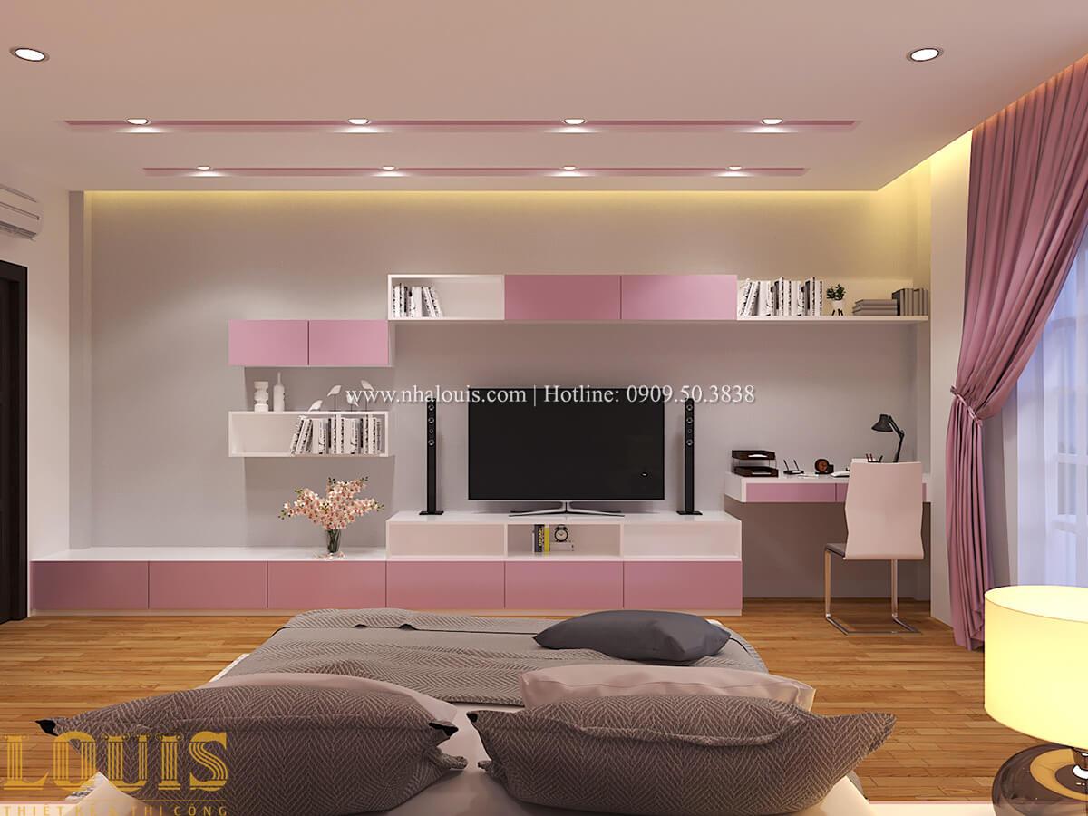 Phòng ngủ Biệt thự 1 trệt 1 lầu phong cách hiện đại 38