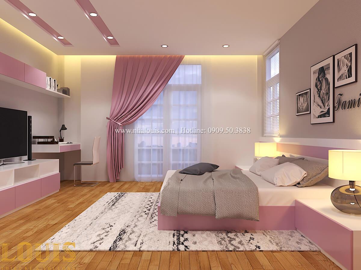 Phòng ngủ Biệt thự 1 trệt 1 lầu phong cách hiện đại 40