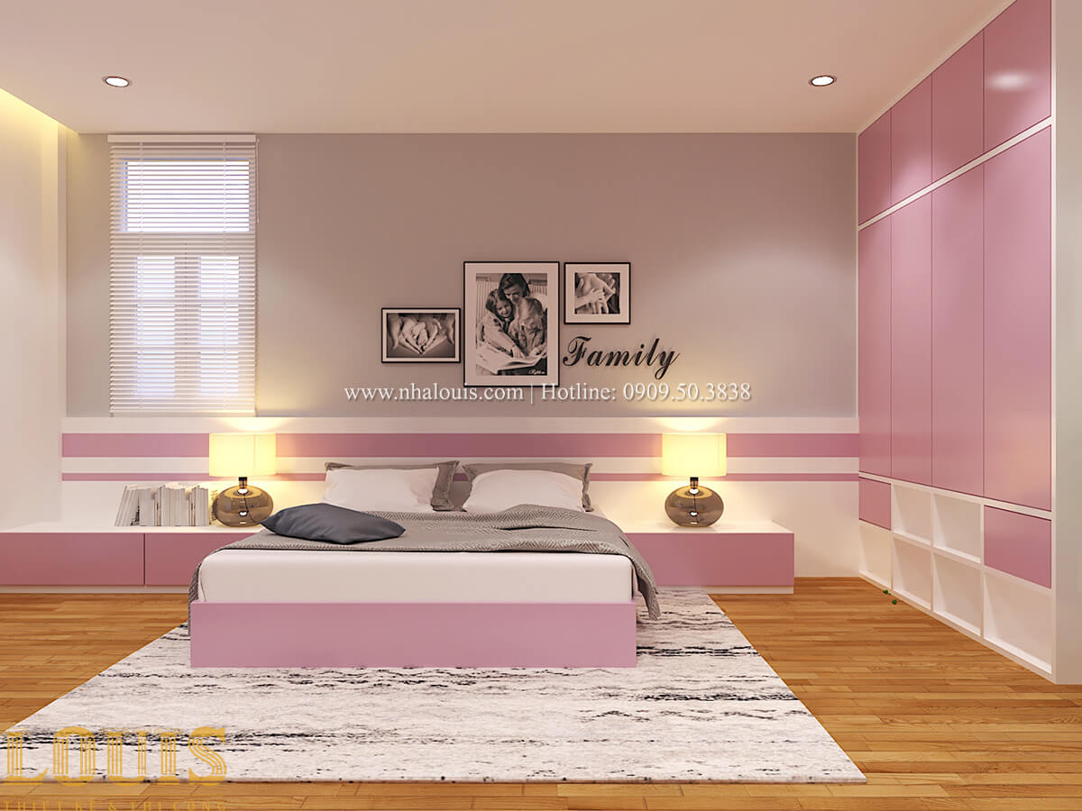 Phòng ngủ Biệt thự 1 trệt 1 lầu phong cách hiện đại 41