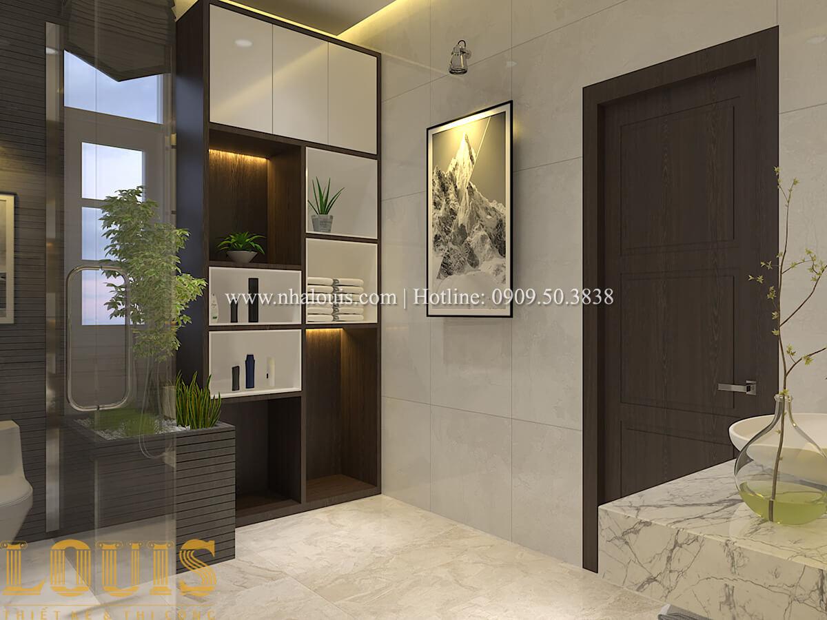 Phòng tắm & WC Biệt thự 1 trệt 1 lầu phong cách hiện đại 43