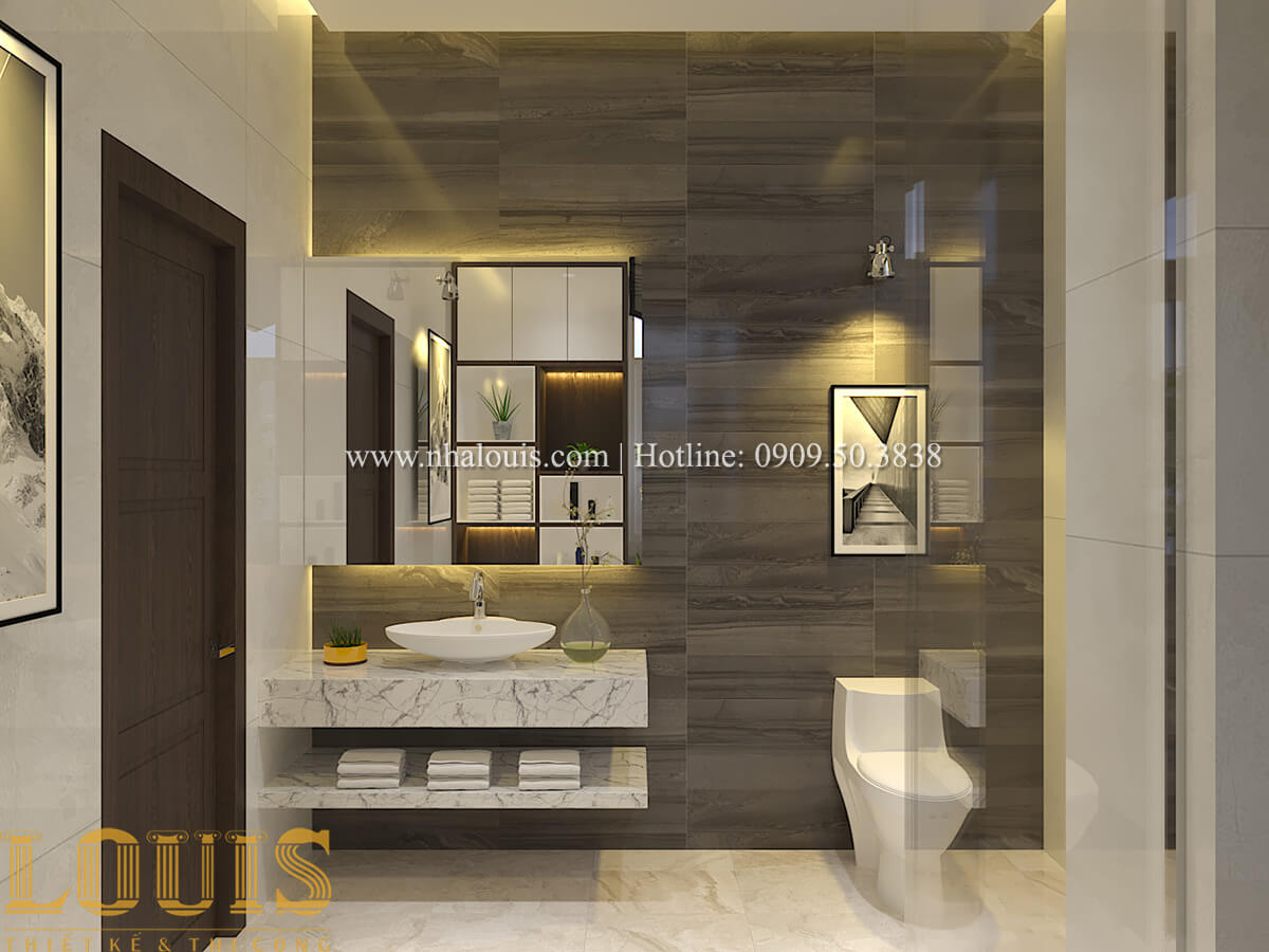 Phòng tắm & WC Biệt thự 1 trệt 1 lầu phong cách hiện đại 44