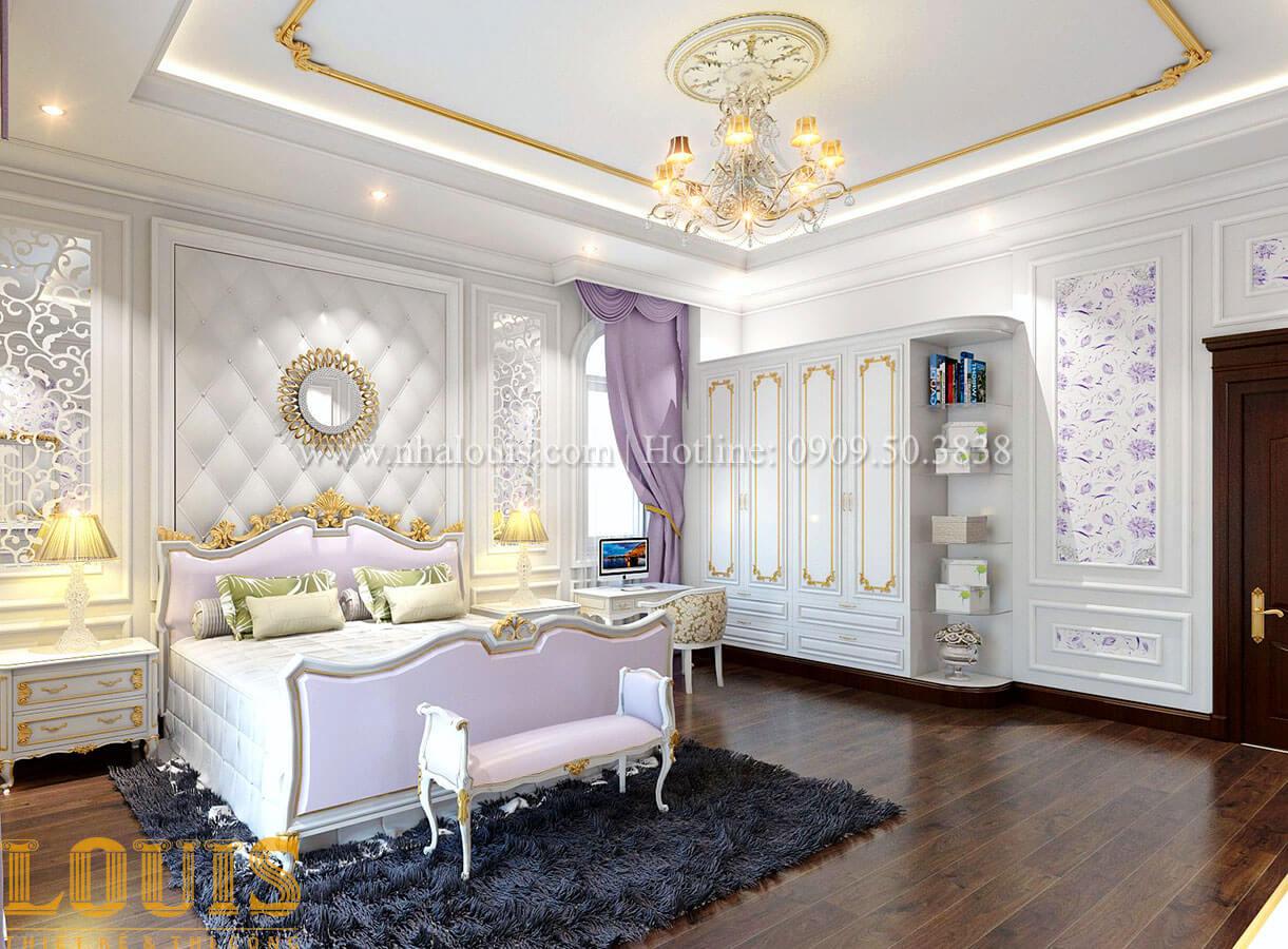 Phòng ngủ Biệt thự 2 tầng tân cổ điển đẳng cấp thượng lưu tại Bình Chánh - 15