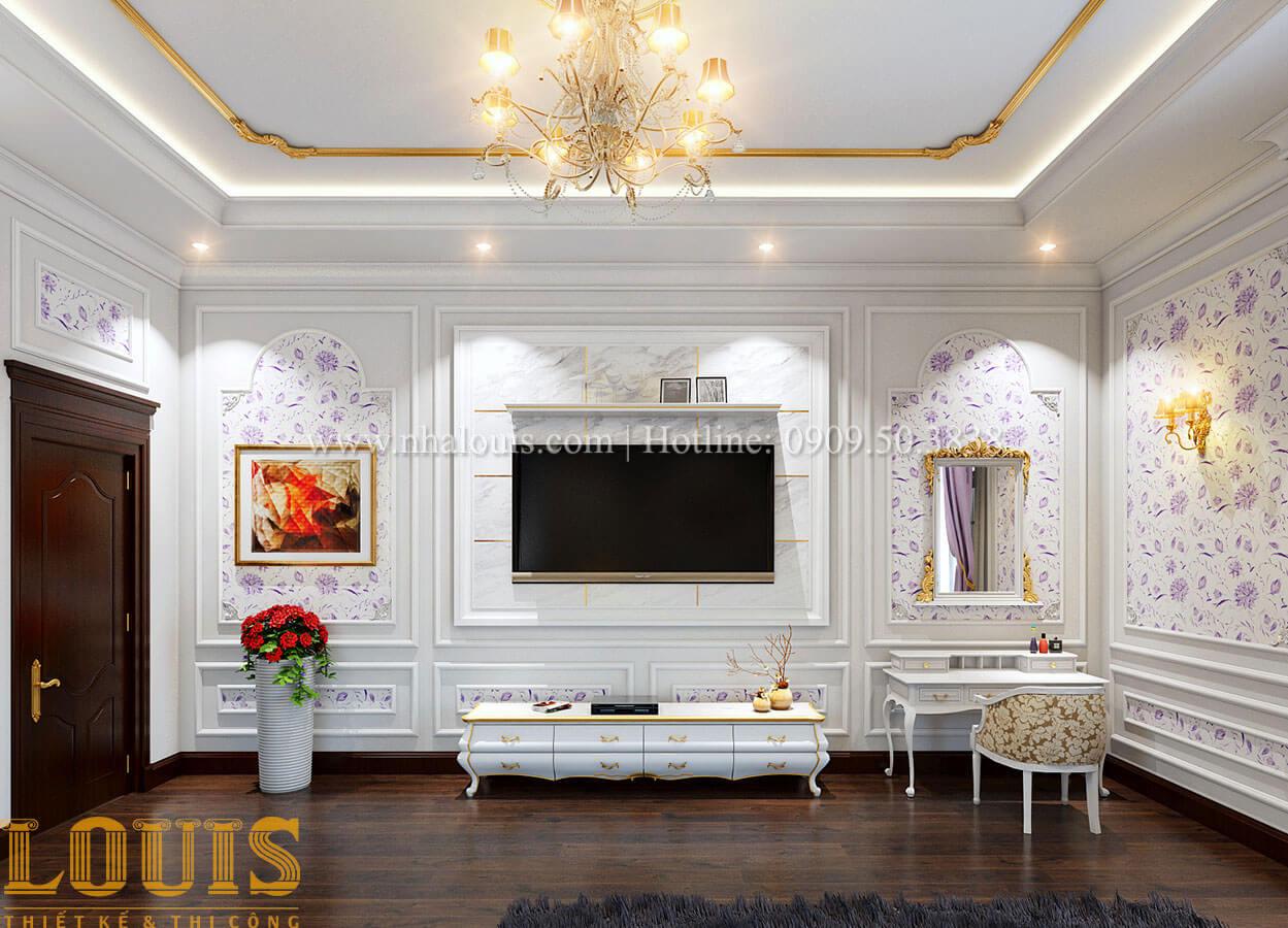 Phòng ngủ Biệt thự 2 tầng tân cổ điển đẳng cấp thượng lưu tại Bình Chánh - 16