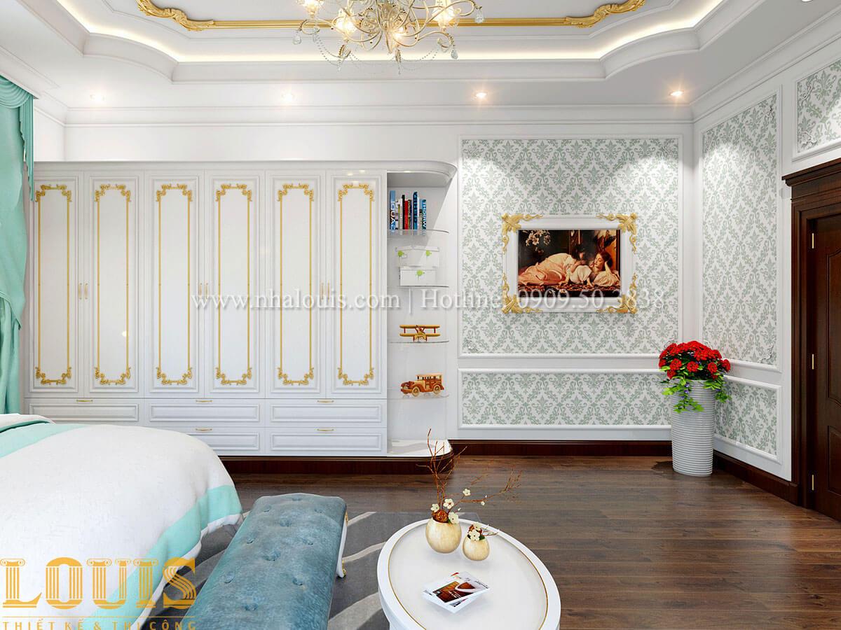Phòng ngủ Biệt thự 2 tầng tân cổ điển đẳng cấp thượng lưu tại Bình Chánh - 17