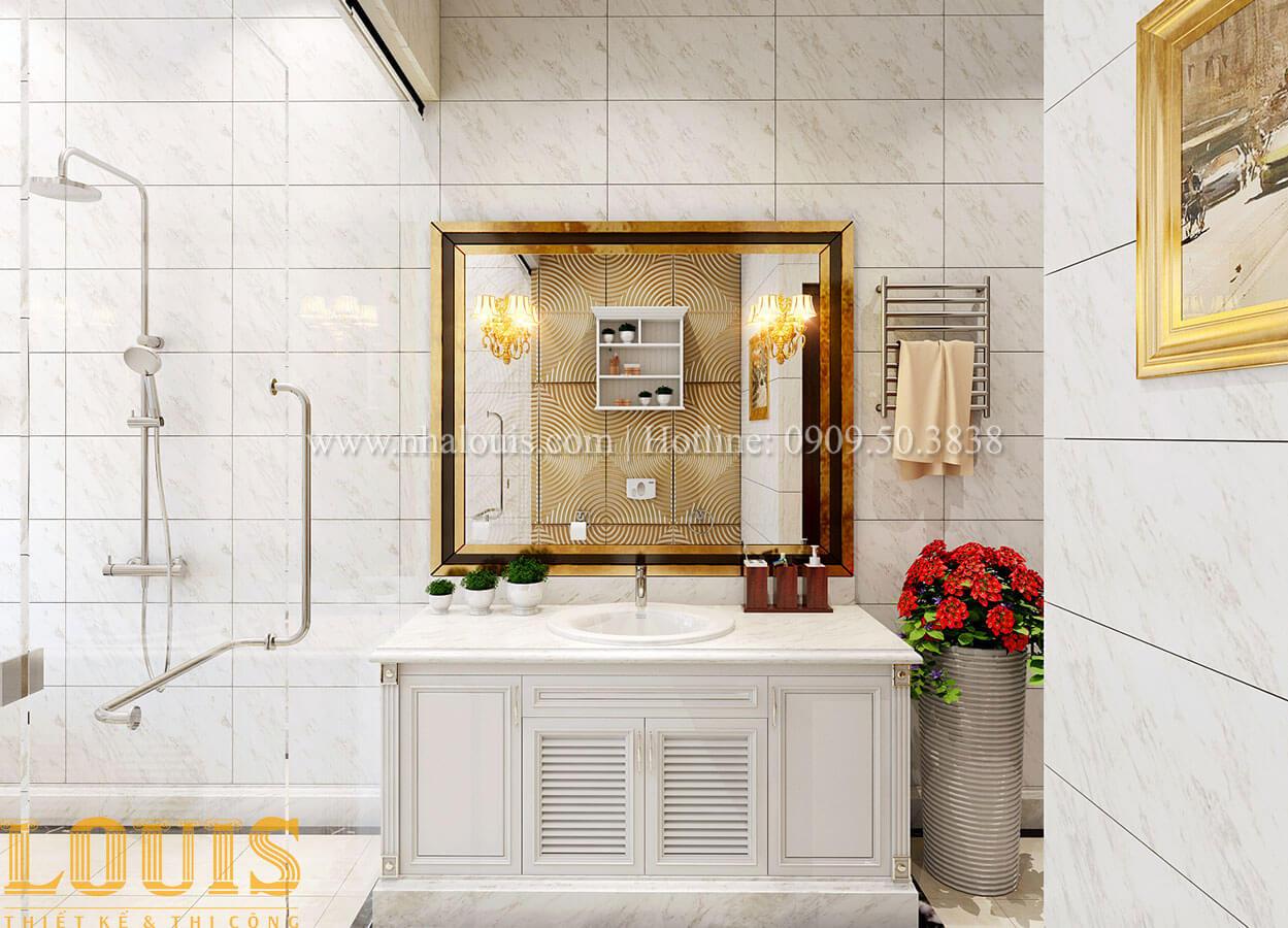 Phòng tắm và wc Biệt thự 2 tầng tân cổ điển đẳng cấp thượng lưu tại Bình Chánh - 19