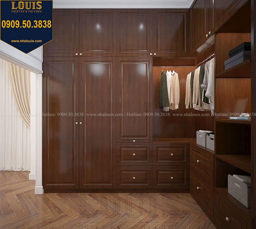 Phòng thay đồ Biệt thự 3 tầng có tầng hầm với phong cách tân cổ điển tại Bình Dương - 37
