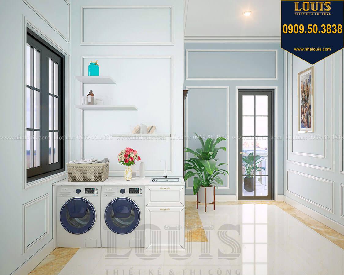 Phòng giặt ủi Biệt thự 3 tầng có tầng hầm với phong cách tân cổ điển tại Bình Dương - 42