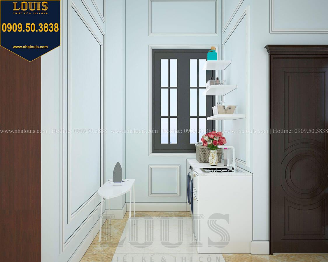 Phòng giặt ủi Biệt thự 3 tầng có tầng hầm với phong cách tân cổ điển tại Bình Dương - 43