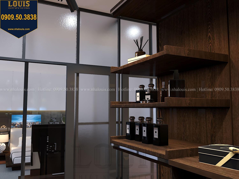 Phòng ngủ master Mẫu biệt thự 3 tầng hiện đại với không gian mở ở quận 12 - 035