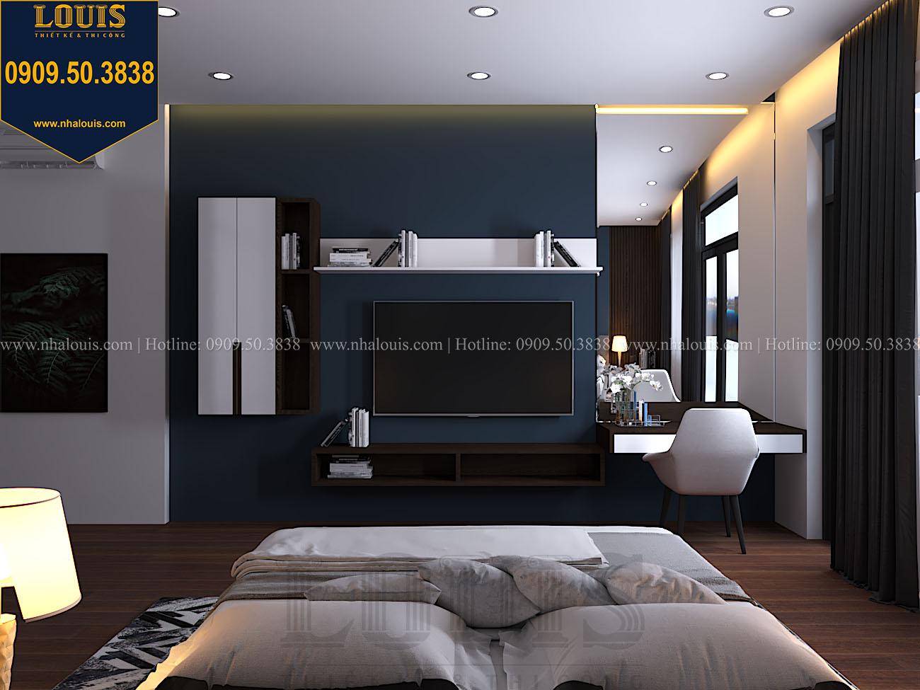 Phòng ngủ Mẫu biệt thự 3 tầng hiện đại với không gian mở ở quận 12 - 051