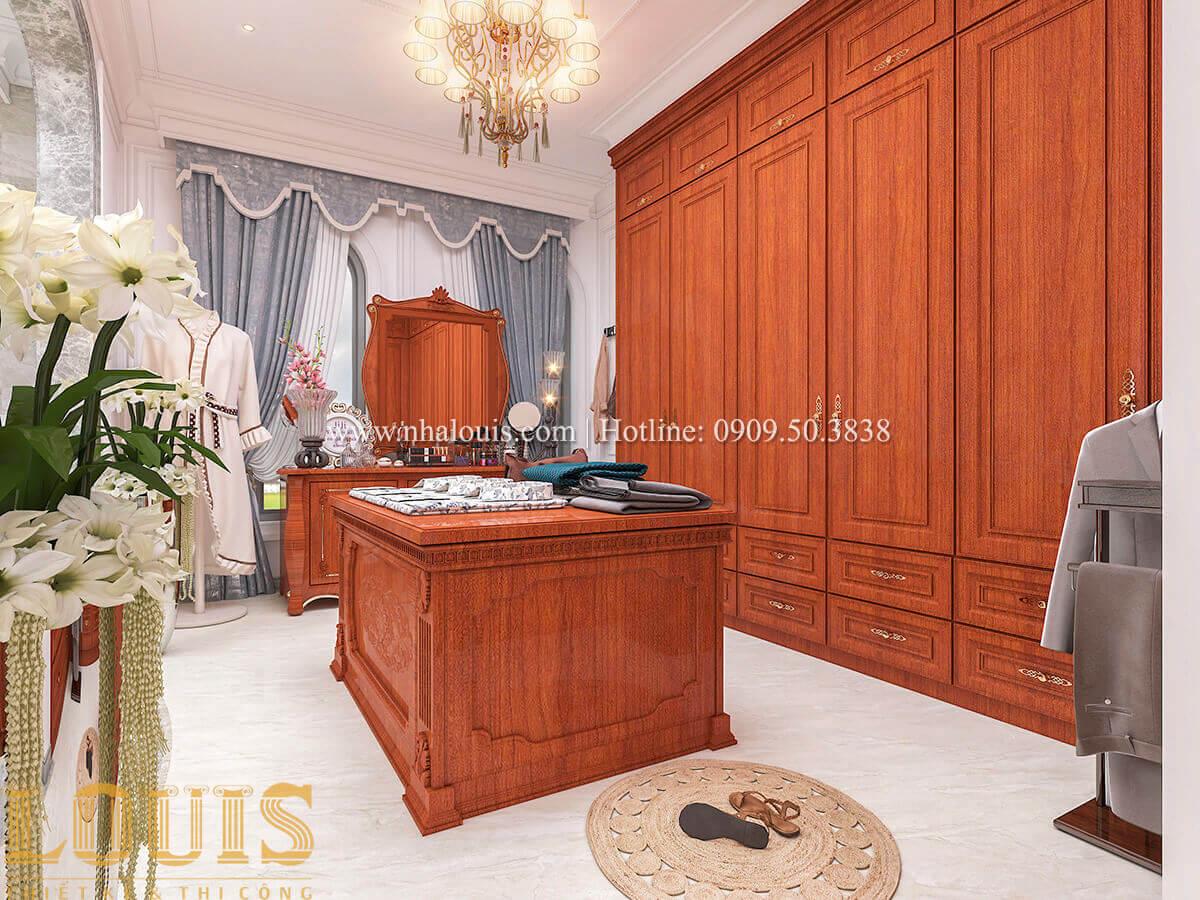Phòng thay đồ Biệt thự lâu đài kiểu Pháp quyền quý và đẳng cấp tại Khánh Hòa
