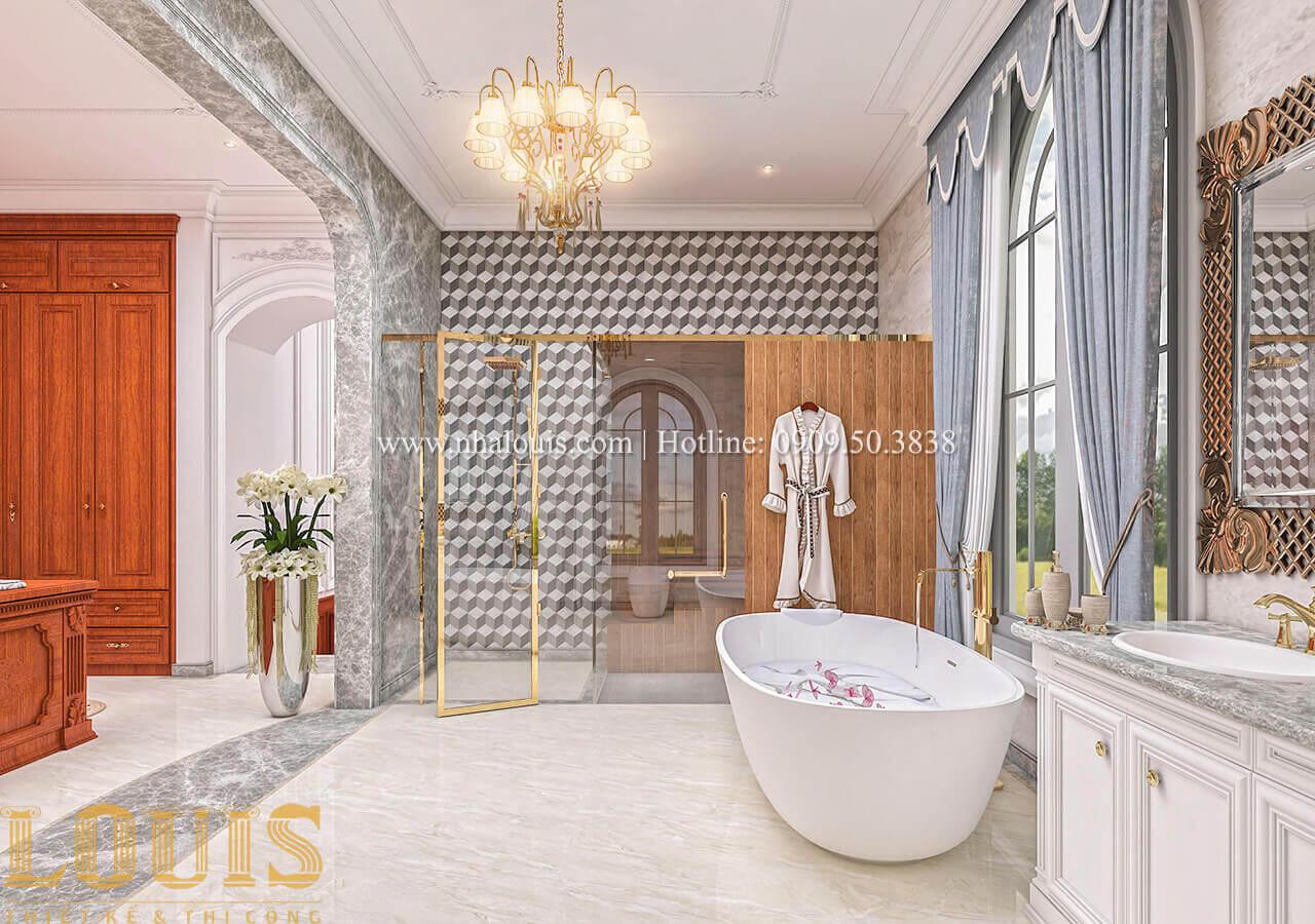 Phòng tắm Biệt thự lâu đài kiểu Pháp quyền quý và đẳng cấp tại Khánh Hòa